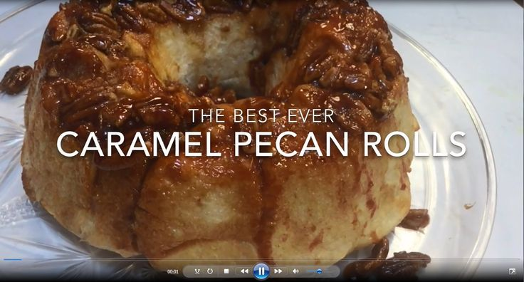 Want to make something delicious this weekend?  Try these caramel pecan rolls.  These are one of the most requested recipes for WHNT News 19 sister station KTVI in St. Louis. INGREDIENTS 16 Rhodes …