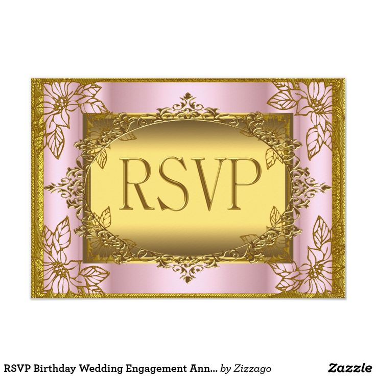 RSVP Birthday Wedding Engagement Anniversary Card RSVP Reply Response Pink Gold Birthday Anniversary Wedding Engagement Elite Elegant Birthday Party Gold 21st, 50th 40th, 30th, 60th, Birthday Party Gold womans Girl, Couple. Invitation Template Formal Use for any event invitation Customize to change age and details. Also can be used for Quinceanera 15th and Sweet 16 invites
