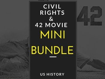 The Civil Rights movement was so pivotal in creating more opportunities for African Americans, Latinos and Native Americans. This unit begins with Jackie Robinson and goes all the way to the 1960;s highlighting the key events of the Civil Rights movement.