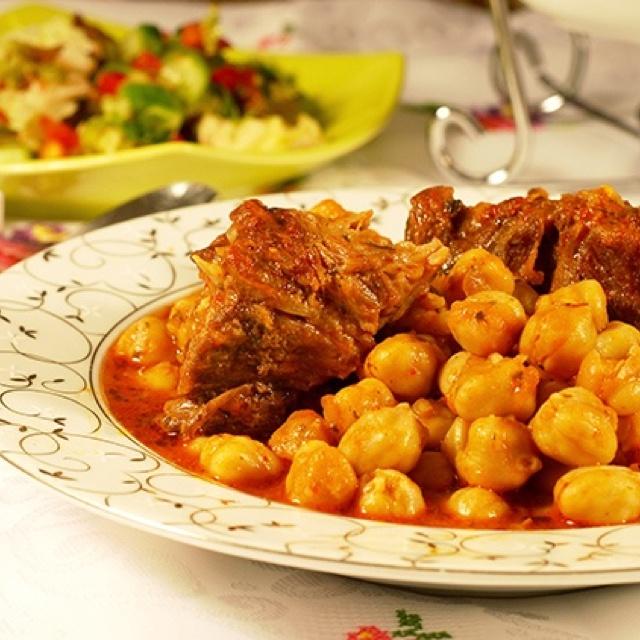 Nohut yemegi - Chickpea dish