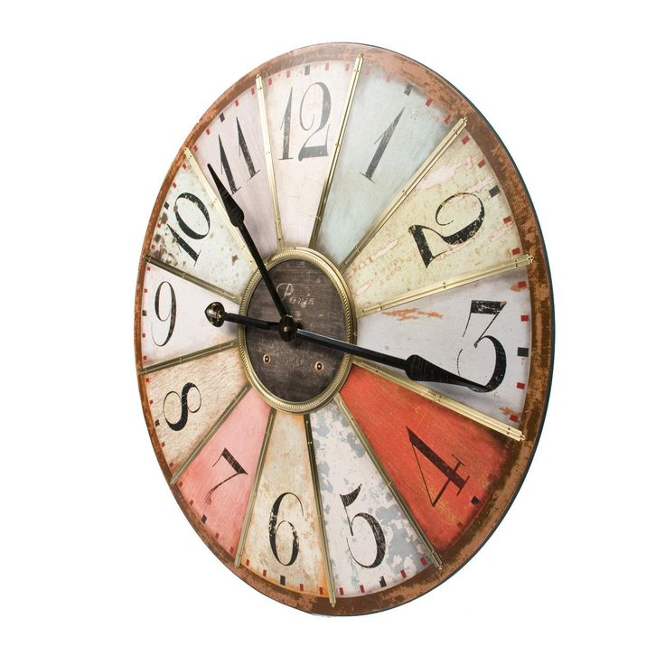 25 best ideas about multicoloured clocks on pinterest