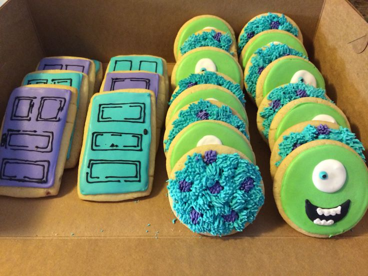 Monsters Inc Cookies. SweetsByRae