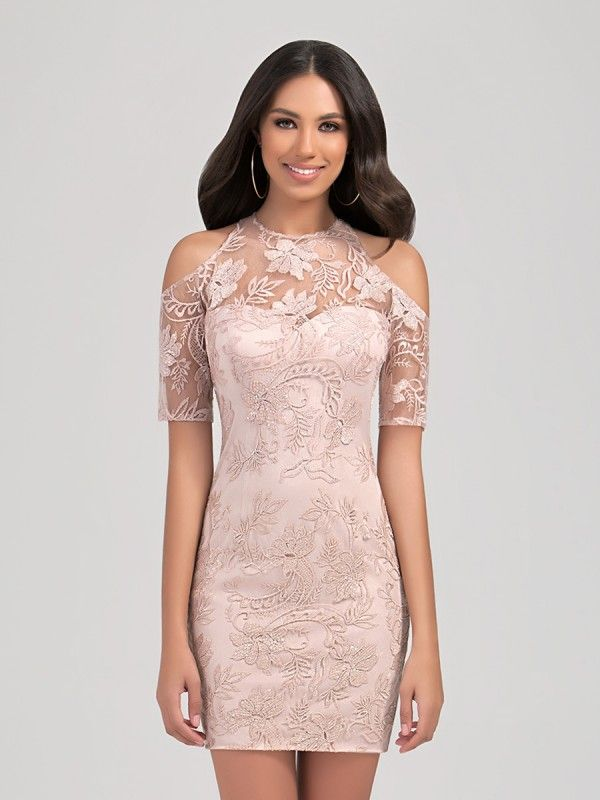 Lace Dress Latest Short Dress Patterns 2019 World Apparel Store