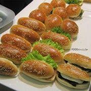 Ψωμάκια μπριός για σάντουιτς