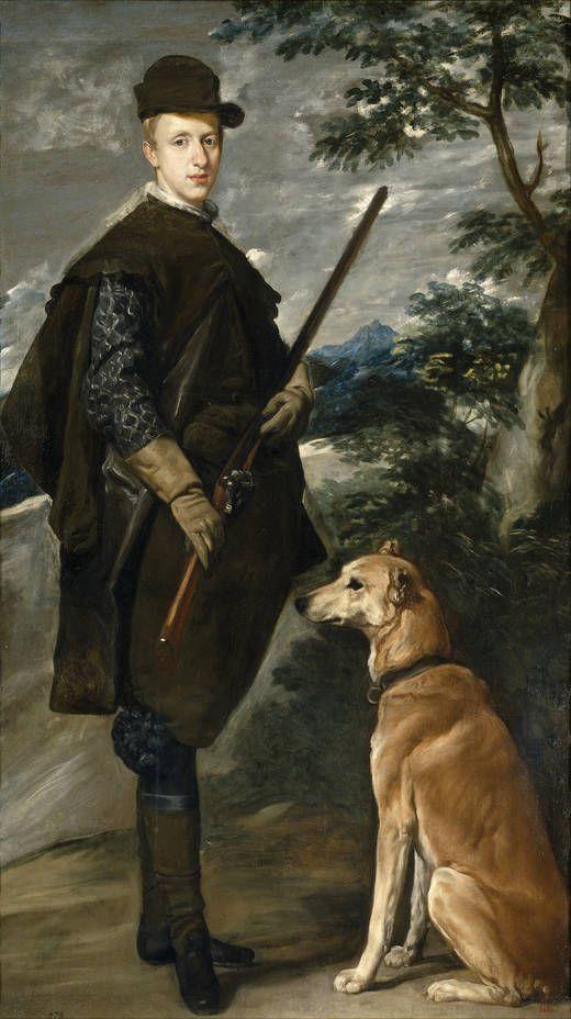 """cardenal-infante Fernando de Austria"", Diego Rodríguez de Silva y Velázquez. Óleo sobre lienzo, 1632 - 1634"