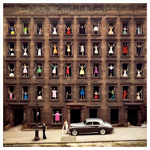 Ormond Gigli - women in a New York City apartment building