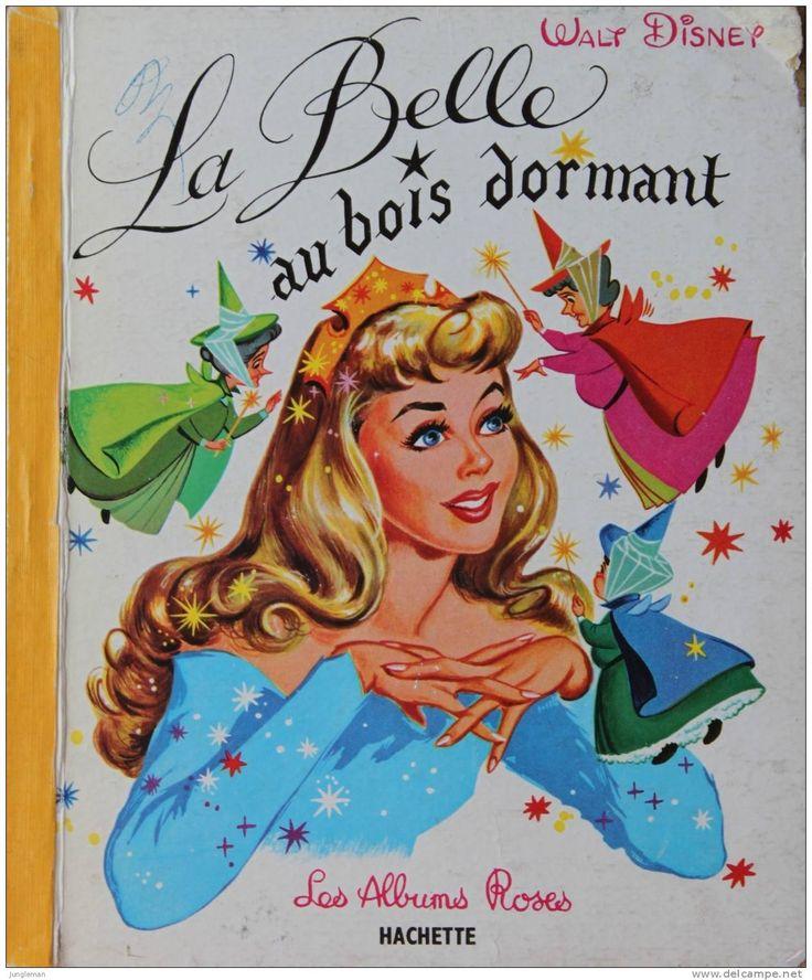 La Belle au Bois Dormant - Walt Disney - Albums Roses - Hachette - 1er trimestre 1965