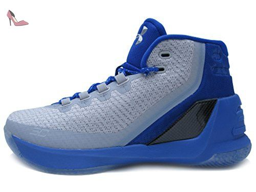 Under Armour - Chaussure de Basketball Under Armour Stephen Curry 3 aqua camo Pointure - 41 - Chaussures under armour (*Partner-Link)