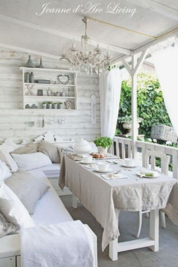 29 beautiful shabby chic patio projects to try for your home rh pinterest com