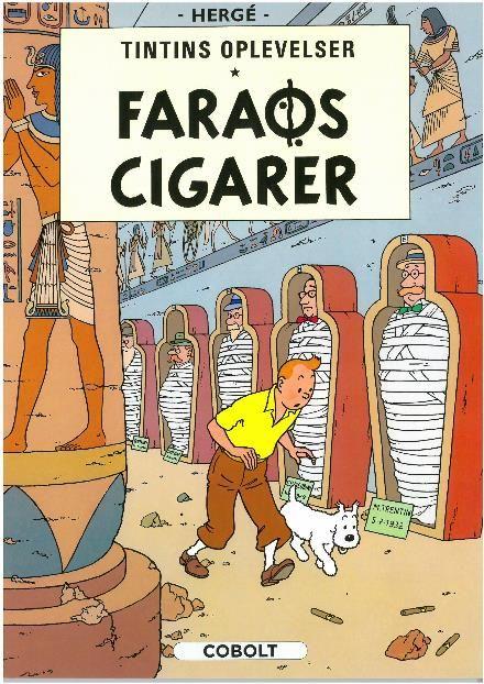 Læs om Faraos cigarer (Tintins oplevelser, nr. 4). Bogen fås også som eller Brugt bog. Bogens ISBN er 9788770854344, køb den her