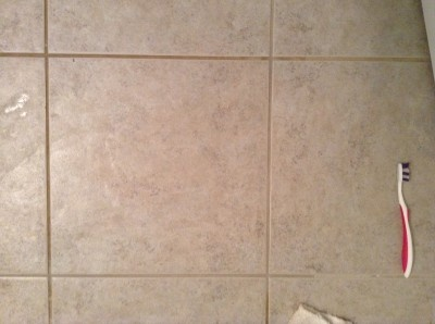 How To Clean Tile Grout Homemade Cleaner Recipe Recipe Clean Tile Grout Homemade Grout Cleaner Clean Tile