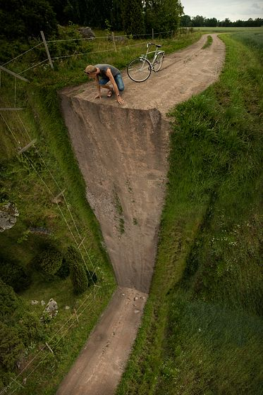 """Vertical Turn""  by Erik Johansson"
