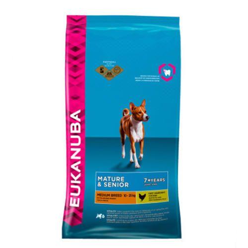 #Eukanuba mature-senior medium sacco da  ad Euro 59.90 in #Catalogo > cani > cibo secco > #Animali domestici