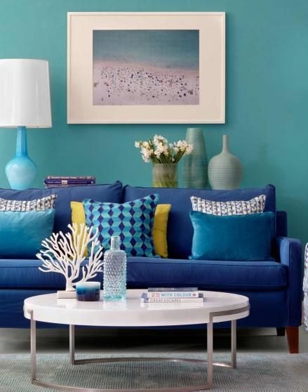 teal living room designs. On the hunt for living rom ideas  Take a look at this lagoon blue room with yellow accents decorating inspiration Find more ide 69 best Living images on Pinterest