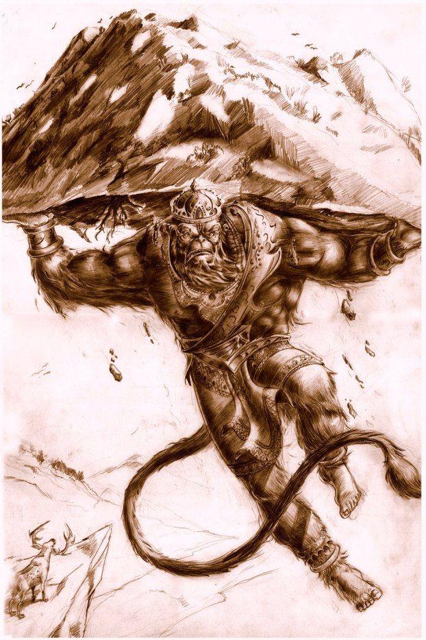 Veer Hanuman : The Indian Superhero | Hanuman, Hanuman ...
