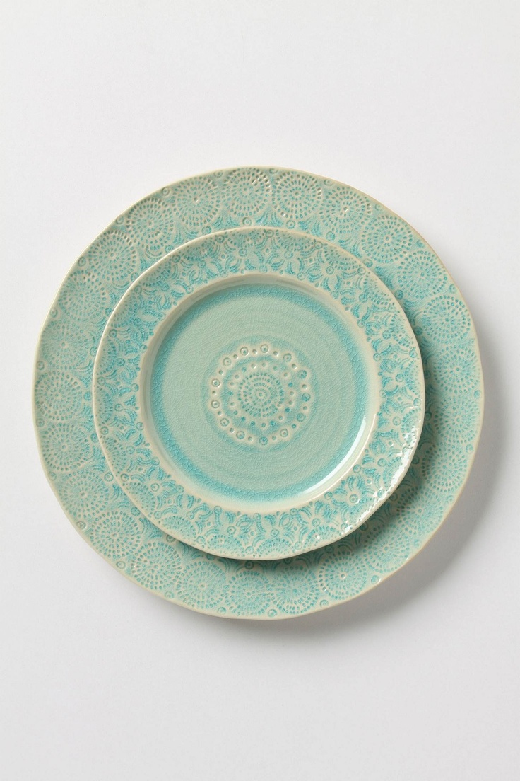 Old Havana Dinnerware: Dinners Plates, Fun Recipes, Havana Dinnerware, Mint Green, Color, Havana Dinners, Dishes, House, Salad Plates