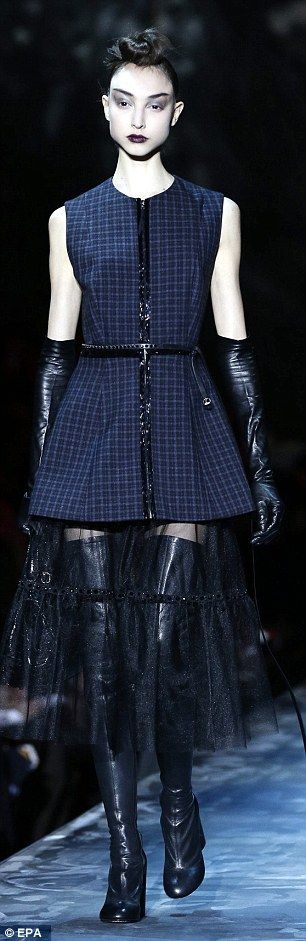 Marc Jacobs proves naughty and nice can go hand-in-hand at NYFW – Clothes