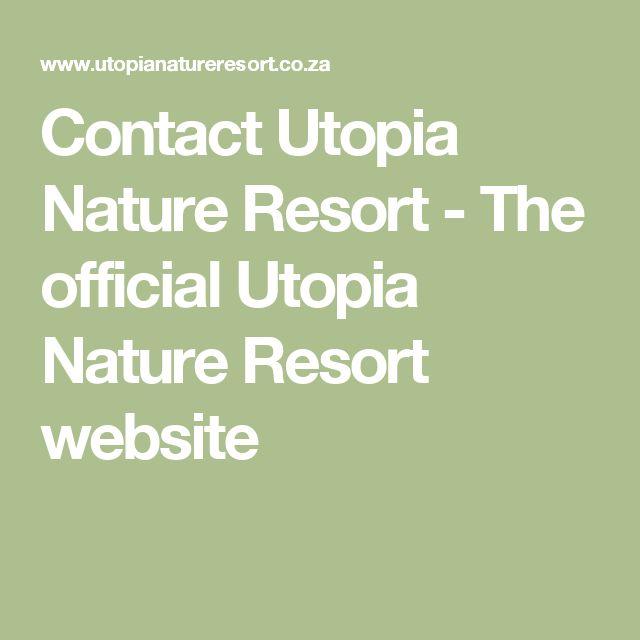 Contact Utopia Nature Resort - The official Utopia Nature Resort website