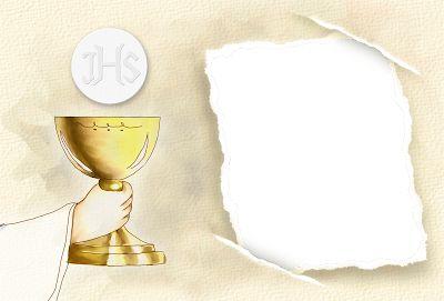 Invitaciones Primera Comunión 2. | Ideas y material gratis para fiestas y celebraciones Oh My Fiesta!