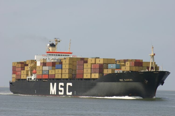 Mediterranean Shipping Company (MSC) operates 434 vessels and has a container fleet of 2,174,000 TEUs, making it the world's second- largest shipping line; in terms of container vessel capacity.