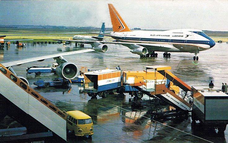 Suid Afrikaanse Lugdiens 747 SP Jan Smuts Lughawe