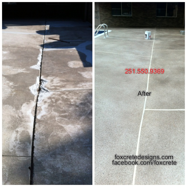 Pool Deck We Revived Back To Life Custom Spray Texture