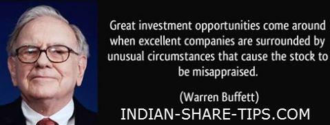 Warren Buffett on Investment Opportunities - A Must Read