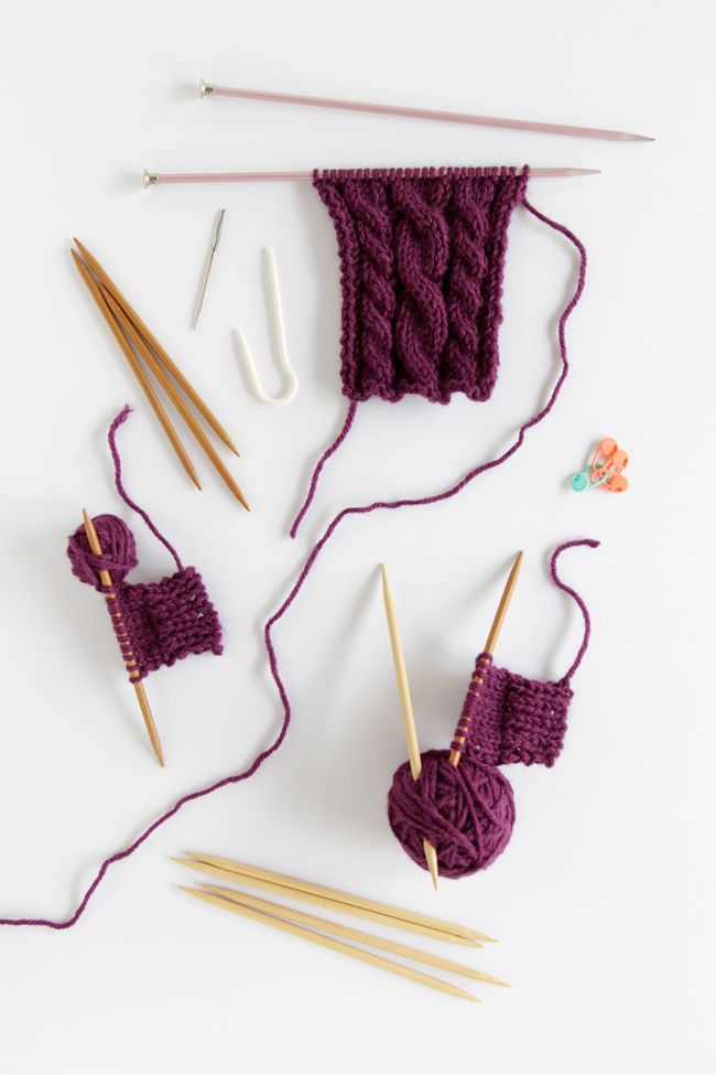Knitting Cables Tips : Tips tricks for taking your knitting to the next level