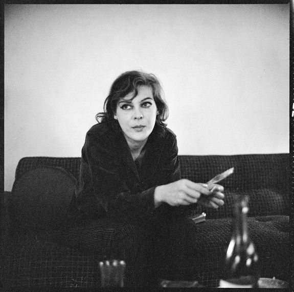 I'm not a person in this dream - I'm a place: Caroline Blackwood by Walker Evans 1958