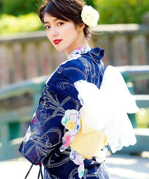 Yukata. Japan. (Yukata is smmer kimono. )