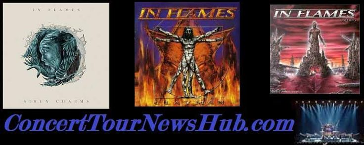 Updated In Flames 2015 Siren Charms Tour Schedule  With Wovenwar & All That Remains - Updated @InFlames_SWE @WOVENWAR @ATRhq #MusicNews #TourSchedule