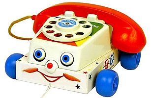 Fisher Price Chatter Telephone first introduced in the late 60's