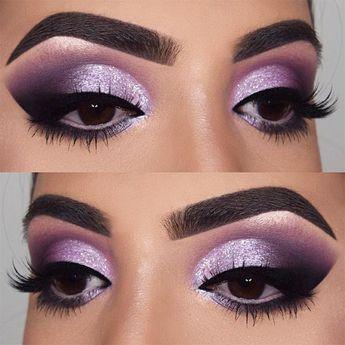 purple smoky toned eyeshadow look pinterest// @dri_chaw