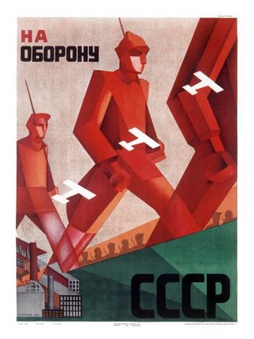 CCCP Russian Propaganda Poster Giclee Print at Art.com