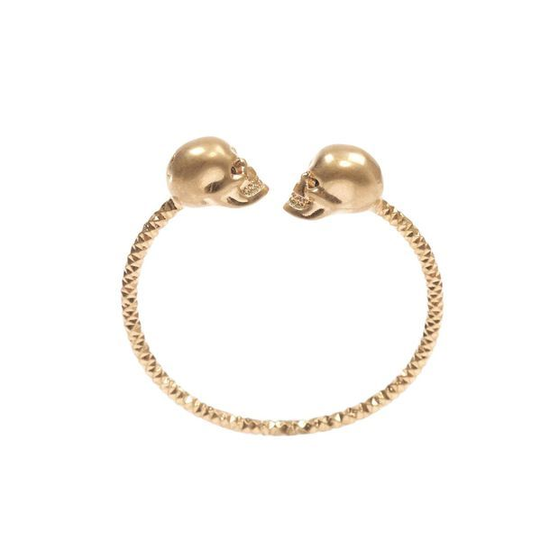 Twin Skull Bangle Alexander McQueen | Bracelet | Jewelry |
