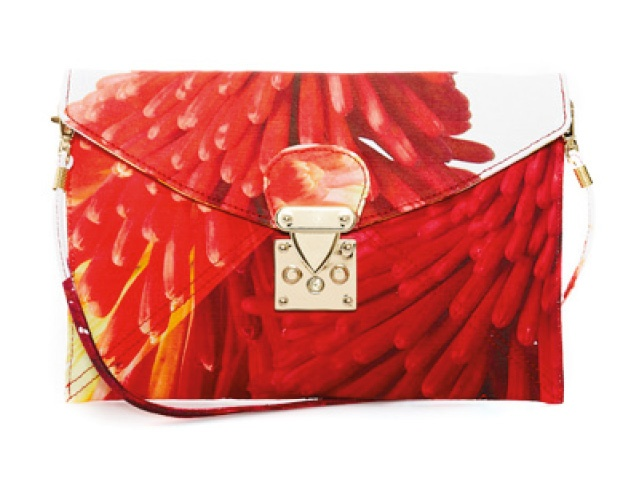 RACHAEL RUDDICK New Opera Flowers clutch, $300