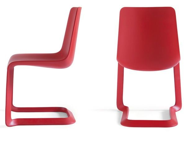Stylish Red Chairs for Modern Dining Room – Nastro by Pianca | DigsDigs