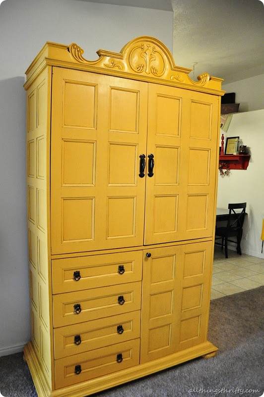 How To Spray Paint Furniture Yellow Paint And: how to spray paint wood furniture