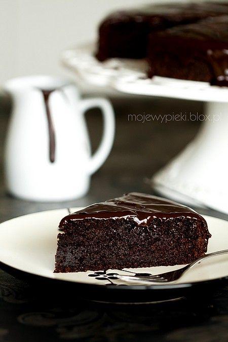 Moje Wypieki   Razowe ciasto czekoladowe