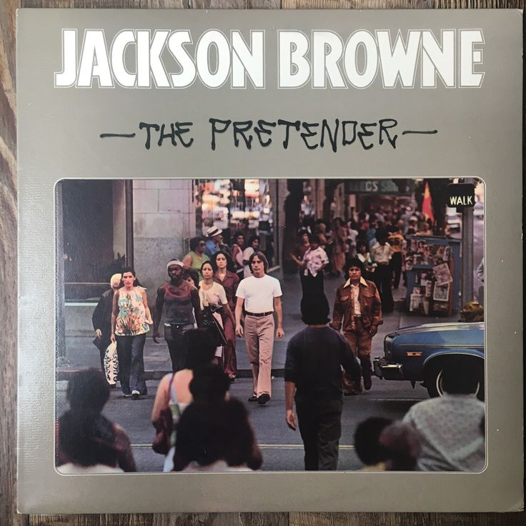 Jackson Browne ~ The Pretender ~ Vinyl LP (VG+) in 2020