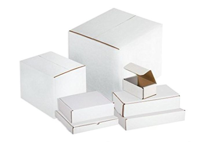 Axiom 150 6x2x2 Brand-New White Corrugated Shipping Boxes - Brought to you by Avarsha.com
