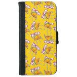taco cartoon style funny illustration iPhone 6/6s wallet case