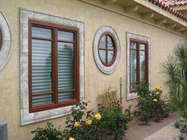 window film lowes Landscape Mediterranean with circular window eaves european doors european windows Mediterranean style