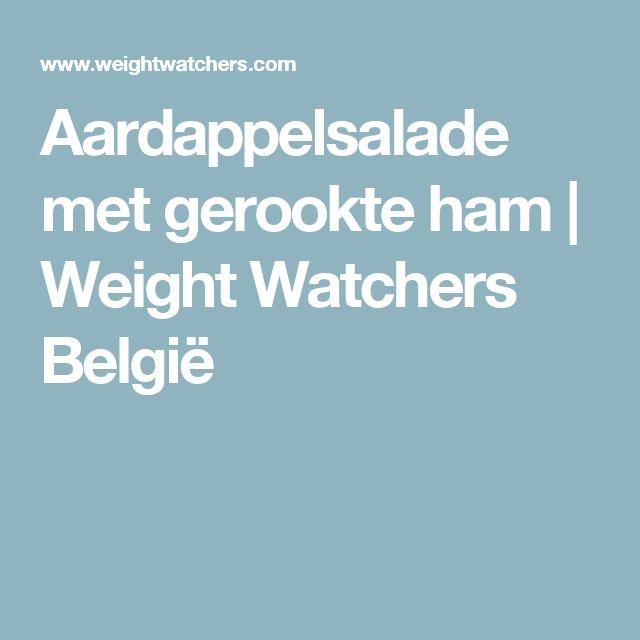 Aardappelsalade met gerookte ham | Weight Watchers België