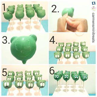How To Make Gummy Bear Cake Pops #cakepops