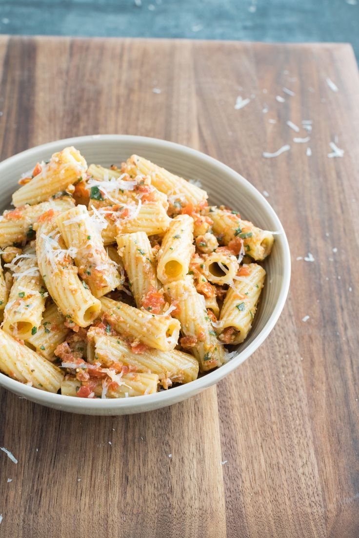 Trapanese Pesto from Christopher Kimball's Milk Street