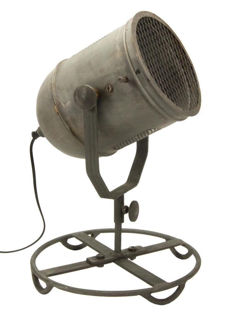 €149,- Industrial spotlight. Available at http://www.klbr22.com/nl/verlichting/vloerlampen/industriele-spot