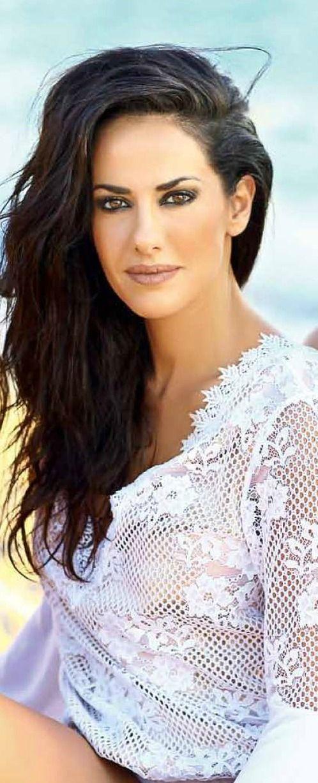 Evi Adam for Hello Magazine Greece Hair + make up by Panos Kallitsis