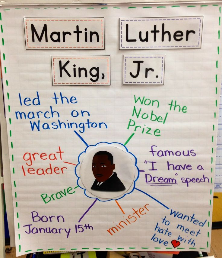 Martin Luther King, Jr. FREEBIES!