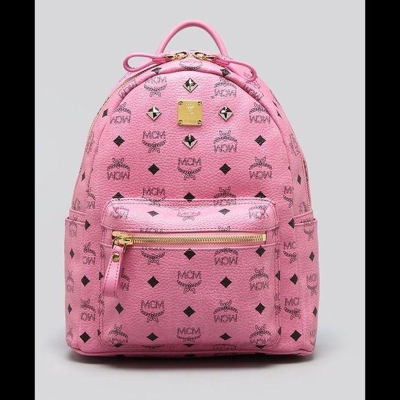 MCM Mini Backpack Pink MCM Mini size backpack MCM Bags Backpacks